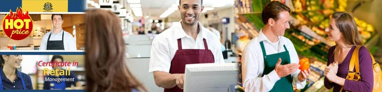 Certificate in Retail Management